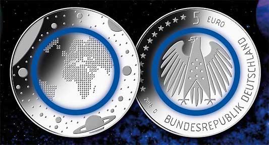 Deutsches Münzen Magazin 5 Euro Bimetallmünze Mit Polymerring