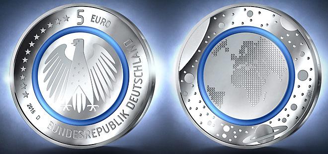 Deutsches Münzen Magazin 5 Euro Münze Mit Polymerring