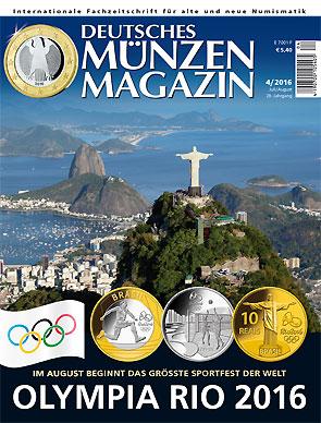 Deutsches Münzen Magazin Ausgabe 42016 Deutsches Münzen Magazin