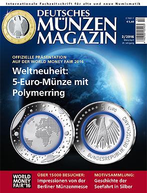 Deutsches Münzen Magazin Ausgabe 22016 Deutsches Münzen Magazin