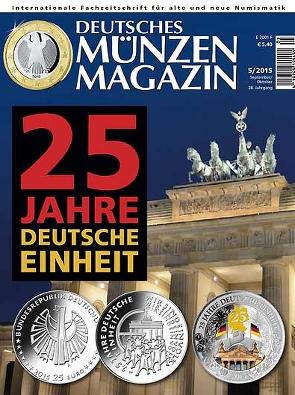 Deutsches Münzen Magazin Ausgabe 52015 Deutsches Münzen Magazin