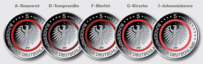 Deutsches Münzen Magazin Tropische Zone Mit Leuchtend Rotem Ring