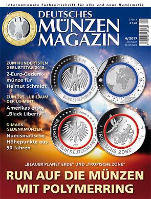 Deutsches Münzen Magazin Ausgabe 42017 Deutsches Münzen Magazin