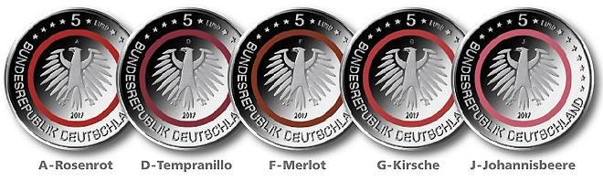 Deutsches Münzen Magazin Run Auf Die 5 Euro Münze Tropische Zone