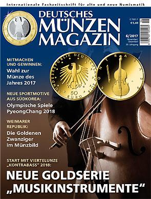 Deutsches Münzen Magazin Ausgabe 62017 Deutsches Münzen Magazin
