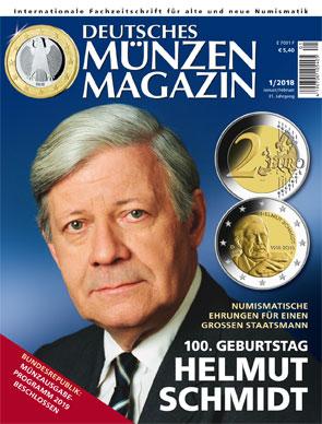 Deutsches Münzen Magazin Jahrgang 2018 Alle Ausgaben Des