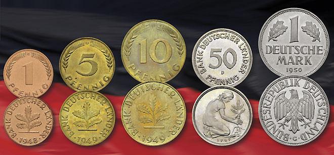 Deutsches Münzen Magazin 70 Jahre Deutsche Mark Numismatische