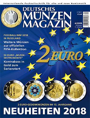 Deutsches Münzen Magazin Ausgabe 42018 Deutsches Münzen Magazin