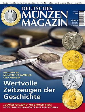 Deutsches Münzen Magazin Gedenkmünzen Themen Deutschland 2018